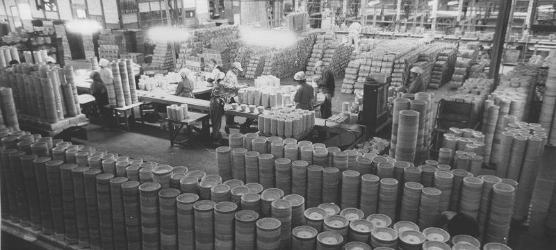 昭和00年当時、生産が最盛期の時代の風景